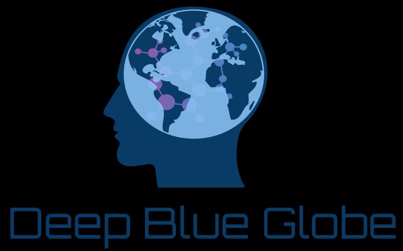 Deep Blue Globe Logo